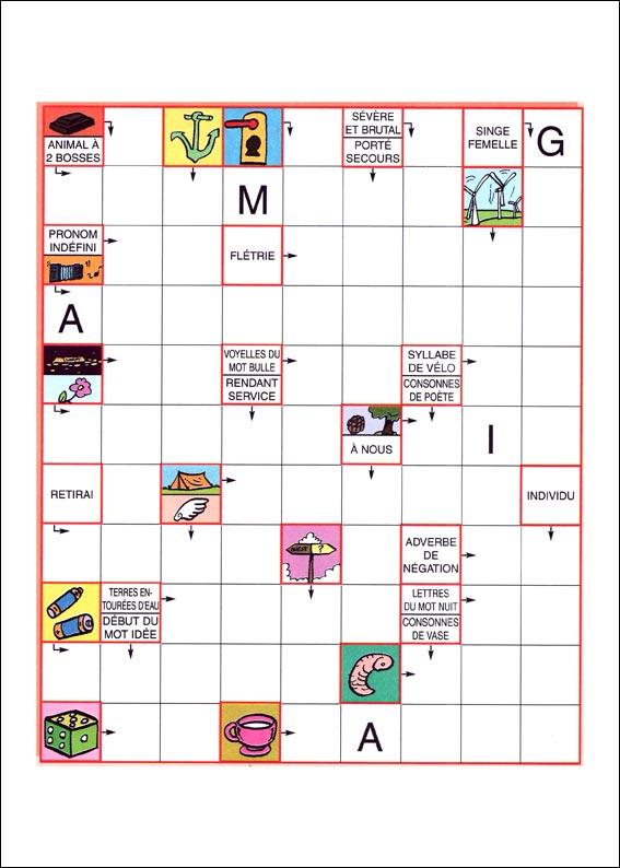 mots fleches 50 jeux - grille de mots fléchés c807273b212