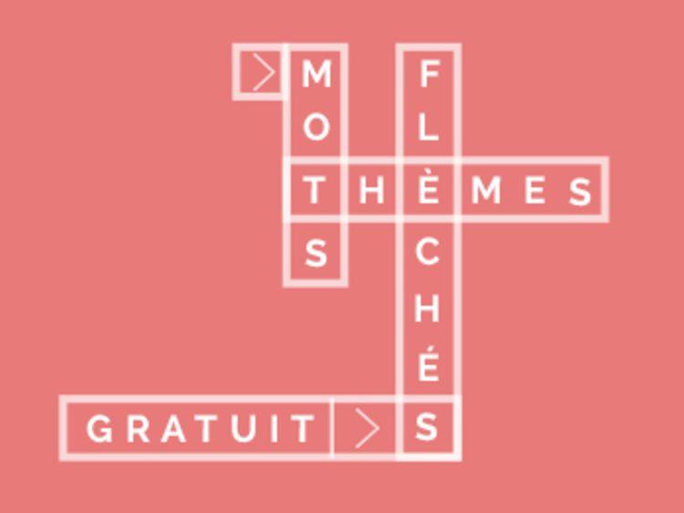 mots fleches gratuits a theme